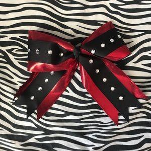 Cheerleading bow.